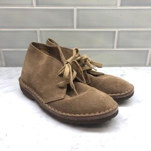 Crewcuts Boys Suede Lace Up Boots Size 1